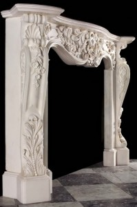 french marble mantle